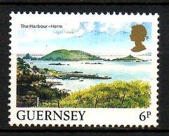 GUERNESEY. N°330 De 1985. Port De Herm. - Guernesey