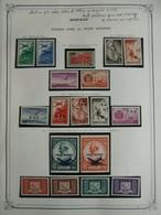 COLLECTION MONACO POSTE AERIENNE ANNEES 1940 / 1974 NEUFS * / ** TTB / SUP. COTE TRES IMPORTANTE - Airmail