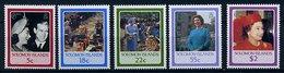 Salomon ** N° 547 à 551 - 60 Ans De La Reine Elizabeth II - Salomon (Iles 1978-...)
