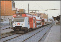 RENFE Serie 450 Unidad Eléctrica De Dos Pisos - Ferrocarril Tarjeta Postal - Trains