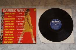 DANSEZ AVEC JOHNNY HALLYDAY.SHEILA GAINSBOURG.CLAUDE FRANCOIS ETC LP YEYE DE 196? BEATLES - Vinyl Records