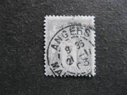 A). TB N° 87, Oblitéré. - 1876-1898 Sage (Type II)