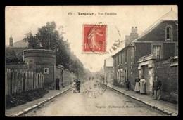 Tergnier, Rue Franklin, Animé (02) - France