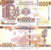 Guinea  New   1000 Francs  2017  UNC - Guinea