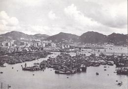 HONG KONG A VIEW OF THE BAY   VG   AUTENTICA 100% - Cina (Hong Kong)
