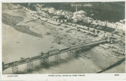 Shanklin 1933; Napier Hotel From The Air - Circulated. (Napier Hotel) - England