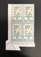 New Zealand 1966 Scout Jamboree Paper Fold Error Mnh - Nuevos