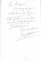 Dédicace De Roland Sadaune - Facteurs D'Ombres - Livres, BD, Revues