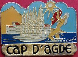 HH 421........ECUSSON....CAP D AGDE... Département De L'Hérault - Cities
