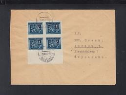 Czechoslovakia Cover 1945 Motycin To Zürich - Briefe U. Dokumente