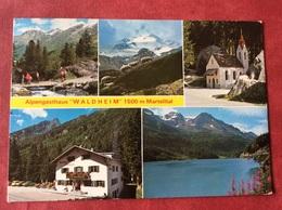 Italia Italië Italie Italy Val Martello. Pension Waldheim - Alberghi & Ristoranti
