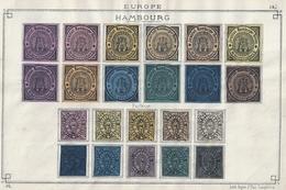 Selten Sammlung Privat Post / Poste Privée Collection Rare . 9 Scans . - Hambourg