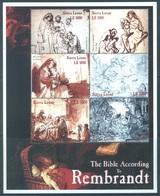 SIERRA LEONE - MNH/** . - 2001 -  REMBRANDT THE BIBLE  - Yv 3219-3224 -  Lot 18438 - Sierra Leone (1961-...)