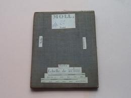 MOLL Postel / Rethy / Lommel / Baelen : 1/20.000 () Oude 2de Hands Kaart Op Katoen / Cotton ) België ( Mol ) ! - Europe