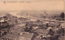 Zelzate: Panorama Met Molen. - Zelzate