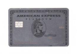 American Express USA - M E T A L - Platinum AMEX Expired - Geldkarten (Ablauf Min. 10 Jahre)