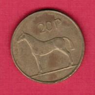 IRELAND   20 PENCE 1995 (KM # 25) #5220 - Irland