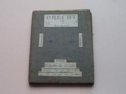 BRECHT Wuestwezel / Oostmalle / Cappelen / Schilde : 1/20.000 () Oude 2de Hands Kaart Op Katoen / Cotton ) België () ! - Europe