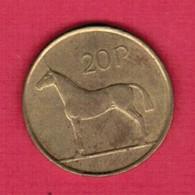 IRELAND   20 PENCE 1998 (KM # 25) #5221 - Ireland