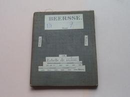 BEERSSE Wortel / Oostmalle / Turnhout / Lille : 1/20.000 () Oude 2de Hands Kaart Op Katoen / Cotton ) België ( Beerse) ! - Europe