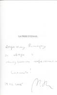 Dédicace De Mikhaïl Chichkine - La Prise D'izmail - Livres, BD, Revues