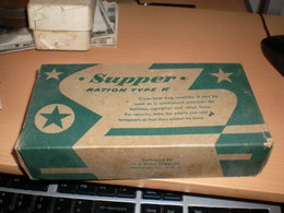 Supper Ration Type K Rackaged By H J Heinz Company Pittsburg Pa USA  Old Box Cardboard - Boxes