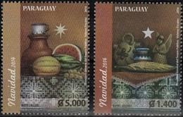 Paraguay 2014 **  Navidad 2014. Pinturas De Martín Vallejos. - Paraguay