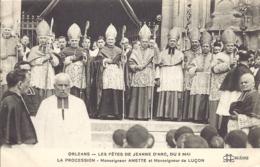 Orleans, Les Fetes De Jeanne D'arc, La Procession, Monseigneur Amette Et Monseigneur Lucon - Orleans
