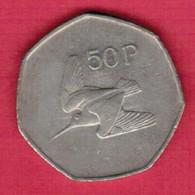 IRELAND   50 PENCE 1998 (KM # 24) #5224 - Irland