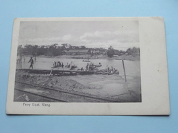Ferry Boat KLANG ( N° 96 The Federal Rubber Stamp C° Kuala Lumpur ) Anno 1909 ( Zie/voir/see Photo ) ! - Malaysia