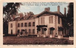 SAINT HILAIRE DE LOULAY      CHATEAU DE LA MUSETIERE - Saint Hilaire Des Loges