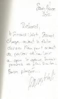 Dédicace De Fabio M. Mitchelli - A La Verticale Des Enfers - Livres, BD, Revues