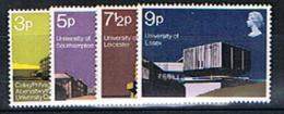 Grande Bretagne, N° SG. 890/93, YT. 646/49 Neufs **. - 1952-.... (Elizabeth II)