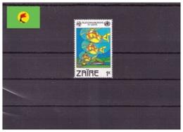 Zaire 1982 - MNH ** - Télécom Et Santé - Michel Nr. 747 (kin094) - Zaïre