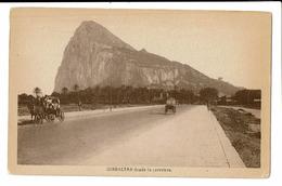 CPA - Cartes Postales - Royaume Uni - Gibraltar - Desde La Carretera -S3787 - United Kingdom