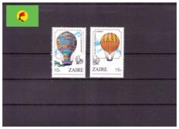 Zaire 1984 - MNH ** - Montgolfières - Michel Nr. 867-868 (kin103) - Zaïre