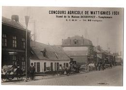 WATTIGNIES CONCOURS AGRICOLE 1931 CARTE PHOTO TRES ANIMEE - Frankreich