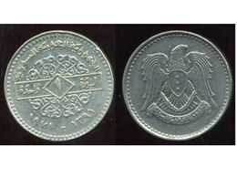 SYRIE 1 Pound 1391-1971 - Syrie