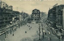 CPA - Belgique - Bruxelles - Brussels - La Place De Brouckère - Places, Squares