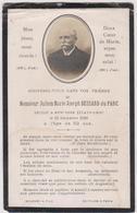 Image Religieuse  Faire Part De Deces   Julien Marie Joseph Bessard Du Parc  New-york 15 Decembre 1906 - Décès