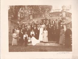 MARSEILLE SANS DOUTE / TRES BELLE PHOTO DE MARIAGE SIGNEE DETAILLE / MARIAGE MARC LOMBARDO ET MIMI PEYSON - Identified Persons