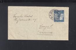 Yugoslavia Cover 1941 Rejhenburg To Switzerland - Briefe U. Dokumente