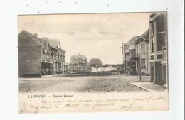 LA PANNE 22 SQUARE BONZEL 1903 - De Panne