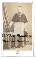 AIX EN PROVENCE - PRETRE CURE MOINE RELIGION - BOUCHES DU RHONE - CDV PHOTO GONDRAN - Personnes Identifiées