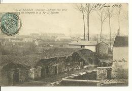 60 - SENLIS / QUARTIER ORDENER - VUE PRISE DES REMPARTS ET LE FAUBOURG SAINT MARTIN - Senlis