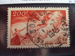 """1927-1959-POSTE AERIENNE, Oblitéré, Timbre N°  19    """" Char Du Soleil """"       Cote  1.90   Net  0.65 - Réunion (1852-1975)"""
