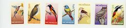 Nicaragua 1986-Colibris, Verdier Etc...-YT 1407/10+PA***MNH - Hummingbirds