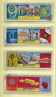 TIMBRES - STAMPS - SELLOS - REP. DU YÉMEN - UPU - IMAGES DE EUROPE 1964-1965-1966-1967-1968-1969-1970 ET PAYS - Timbres
