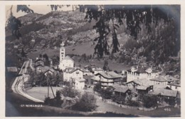 300998Zwitserland, St. Niklaus (FOTO KAART) - VS Valais