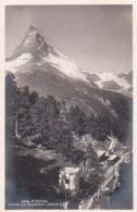 3009101Zwitserland, Riffelalp Station Und Matterhorn 1928(FOTO KAART) - VS Valais
